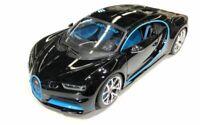 BURAGO 11040K BUGATTI CHIRON Zero 400 Zero model car Montoya black / blue 1:18th