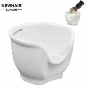 Ceramic Shaving Mug | Traditional shaving cup ( bowl ) for Barbershop by NEWHAIR