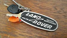 Land Rover Series 4x4 Defender Solihull Warwickshire Aluminium Badge Keyring