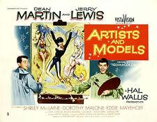 Artists and Models - 1955 - Dean Martin Jerry Lewis Tashlin - Vintage Comedy DVD