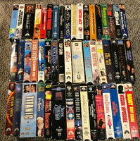 VHS VCR Video Movie Huge Lot E Comedy Drama Action 50 (Lesser Condition) LOOK
