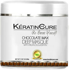 Keratin Cure Chocolate Cocoa Deep Masque Hair Rejuvenation Conditioner 500G/17oz