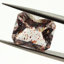 Quartz With Lepidocrocite & Hématite. 5.74 Ct. Madagascar