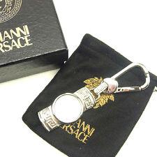 Auth sale Gianni Versace key ring unisexused J17581