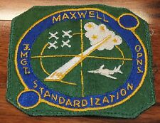Vintage Maxwell Standardization 14 Operation Management 5 Inch Embroidered Patch
