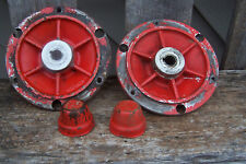 2 GRAVELY MODEL L WALK BEHIND TRACTOR EARLY STYLE  SOLID HUBS AND DUST COVERS