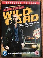 Wild Card DVD 2015 Las Vegas Underworld Crime Thriller Movie w/ Jason Statham