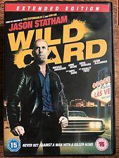 Jason Statham Anne Heche WILD CARD ~ 2015 Las Vegas Underworld Thriller | UK DVD