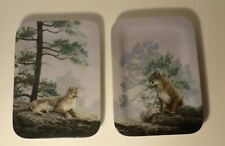 2 Bradford Exchange Natures Harmony Cougar Collectors Plates by Daniel Smith #ed