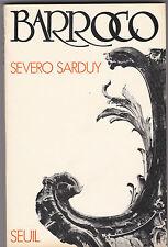 BARROCO  Par Severo SARDUY