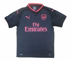 Arsenal 2017-18 Original Third Shirt (Excellent) M Soccer Jersey