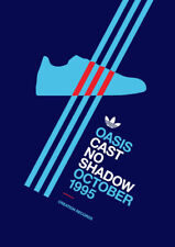 Adidas Casuals Trainers 'Cast No Shadow' A4 260GSM POSTER PRINT