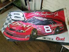 """HUGE Nascar Dale Earnhardt Jr Bud Racing Flag 35""""x62"""""""