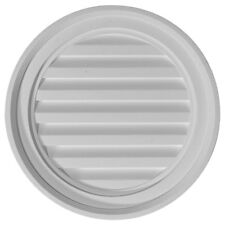 """18""""W x 18""""H x 1 1/8""""P, Round Gable Vent Louver, Non-Functional"""