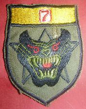 Patch - TIGER FORCE RANGERS - 7th ABN GROUP - MEKONG DELTA - Vietnam War - 7701