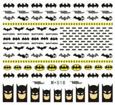 Nail Art Stickers Water Decals Transfers Batman (M+518)