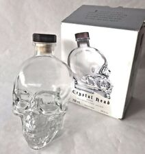 CRYSTAL HEAD Ghostbusters Dan Aykroyd empty Skull Vodka 750ml Skeleton Bottle