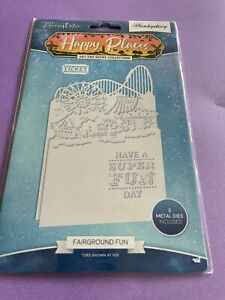 MOONSTONE HAPPY PLACES SET THE SCENE COLLECTION FAIRGROUND FUN HUNKYDORY CRAFTS.