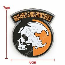 PVC Metal Gear Solid Mgs Peace Walker Militaires Sans Frontieres Patch BS5