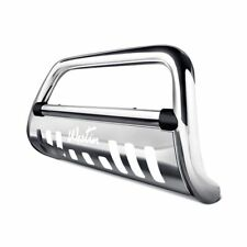 "Westin 3""Ultimate Chrome Bull Bar w Brushed Skid Plate For 16-18 Nissan Titan XD"