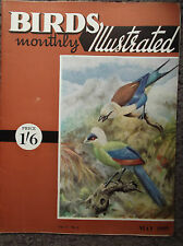 BIRDS MONTHLY ILLUSTRATED, VOL V, NO 1, MAY 1959