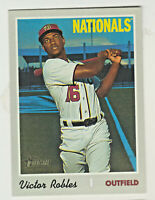 2019 Topps Heritage High Number #701 VICTOR ROBLES Washington Nationals SP