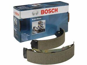 Rear Bosch Brake Shoe Set fits Oldsmobile Bravada 1997-2001 68JNPX