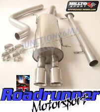 Milltek Exhaust System Fiesta ST180 ST200 SSXFD098 Cat Back Non Res LOUDER