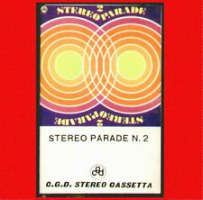 """COMPILATION """" STEREO PARADE N.2 """" MUSICASSETTA NUOVA CGD 1971"""