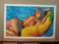 sex-Apeel vintage Oginal Poster hot girl car garage man cave 1993  2255