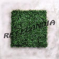 SIEPE FINTA ARTIFICIALE FOGLIA BOSSO SINTETICA SCATOLA DA 12 PZ 50x50 cm. = 3mq