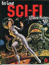 """""""60 GREAT SCI-FI MOVIE POSTERS"""" BOOK – GREEN SLIME, THEM, DUNE, ALIEN – NEW MINT"""