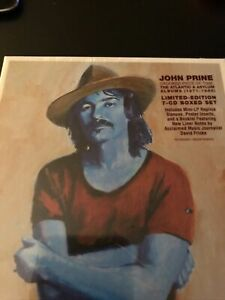 John Prine Crooked Piece Of Time Atlantic & Asylum Albums 1971-1980 7 CD box