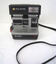 Vintage Polaroid Sun 600 Instant Film Camera with Strap