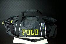 Polo Ralph Lauren Lightweight Nylon Packable Duffel Bag Black