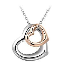Alloy Love heart Chain Costume Necklaces & Pendants