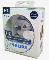 H7 PHILIPS WhiteVision Extra white light 2x +  White Vision W5W 12972WHVSM
