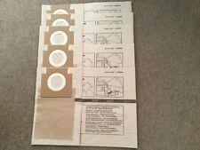 5 Genuine HT7 Hiretech  Floor Sander Sanding Paper Dust Bags