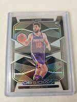 Ty Jerome 2019-20 Panini Obsidian SILVER Rookie Etch Card Phoenix Suns