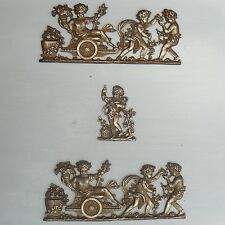 anges / putti / angelots / ornements de meubles en bronze de style empire
