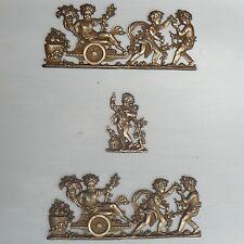 anges / putti / angelots / ornements de meubles en bronze de style empire