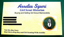Official #15 YEAR PIN Numeral Guard Girl Scout Adult Uniform Thoughtful GIFT EUC