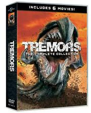 TREMORS 1-6 COLLECTION  6 DVD  COFANETTO  HORROR