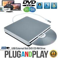 External DVD Drive USB CD Player RW Burner Mac Laptop PC iMAC MacBook pro air