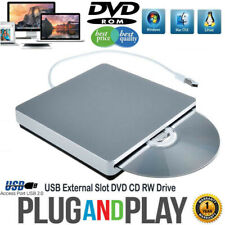 External DVD Drive USB CD Player RW Burner Mac Laptop PC iMAC MacBook pro air