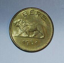 rwanda burundi 1 franc 1961 ---m80