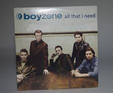 BOYZONE, ALL THAT I NEED, M/M,  2 Track, CD Single, French, POLYGRAM