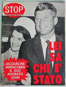 STOP 986 1967 Jacqueline John Kennedy Mina Franco Nero Vanessa Redgrave Soraya