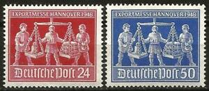 Germany Allied Occupation 1948 MNH - USA/UK/USSR Zone - Hannover Trade Fair