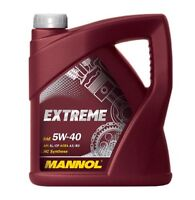 5W-40 Motoröl 4 Liter Mannol Öl 5W40 4L API SN CF ACEA A3/B4 MB 229.3 226.5